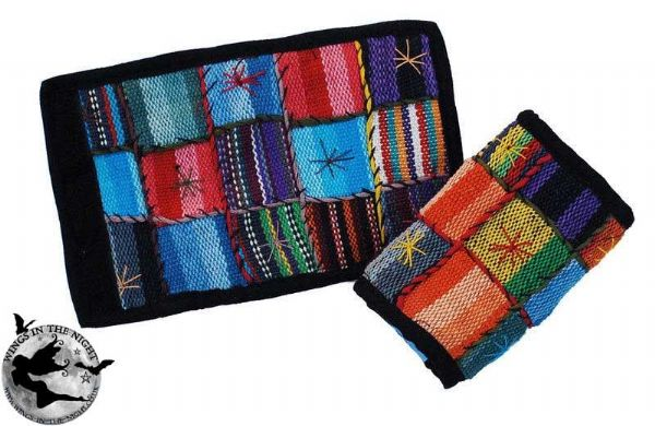 BARES Hippy Patchwork Wallet / Purse